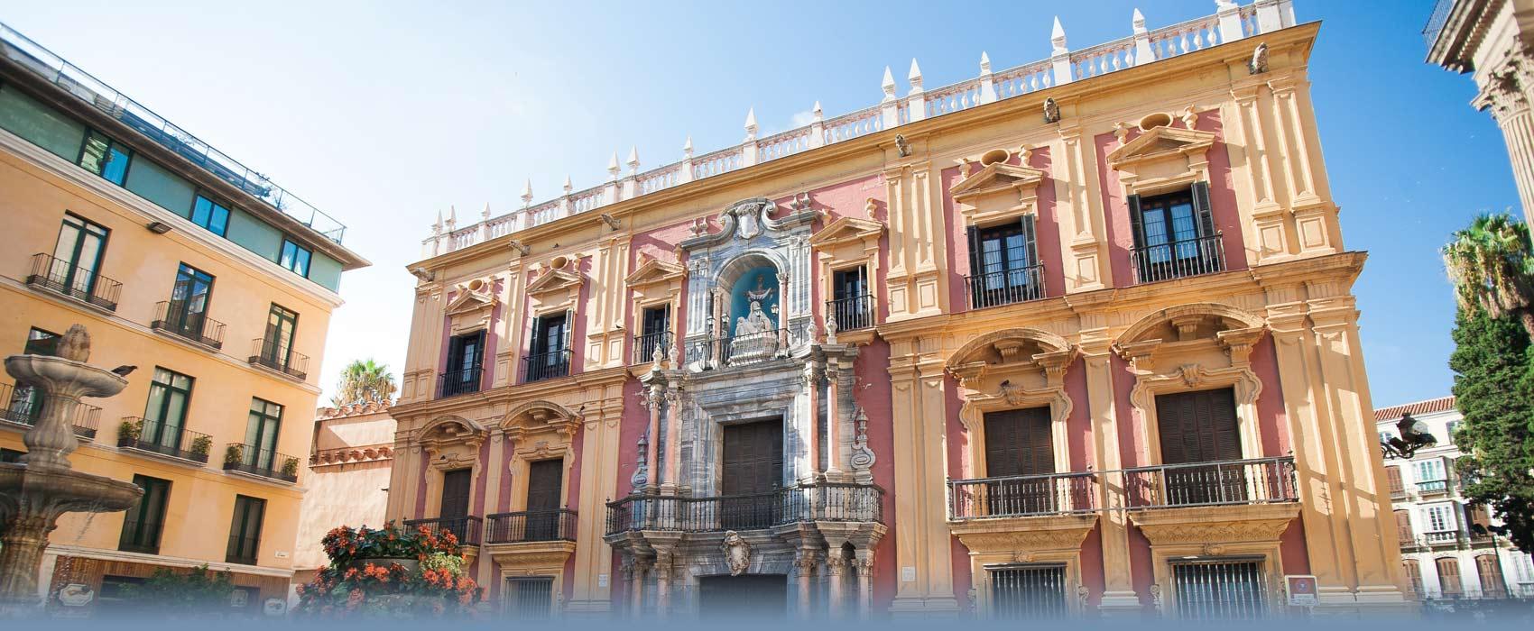 Der Bischofspalast von Malaga