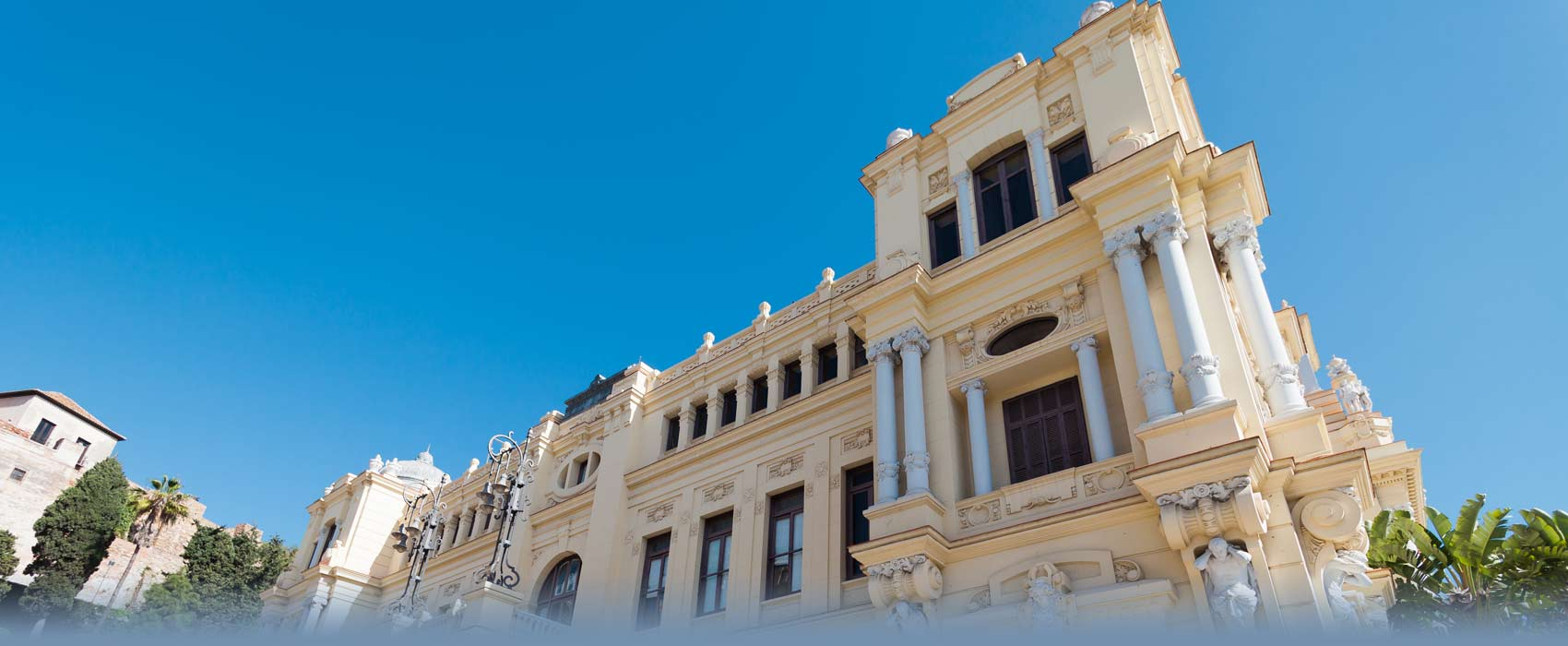 Kultur - Das Rathaus von Malaga