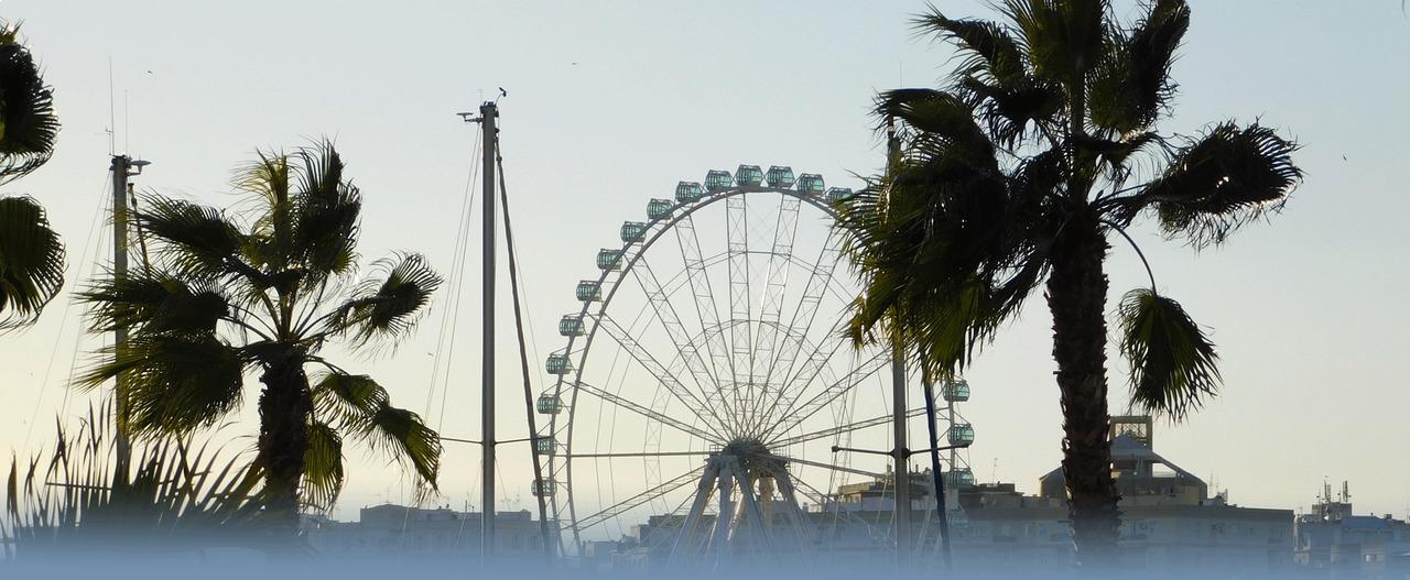 Das Riesenrad Von Malaga